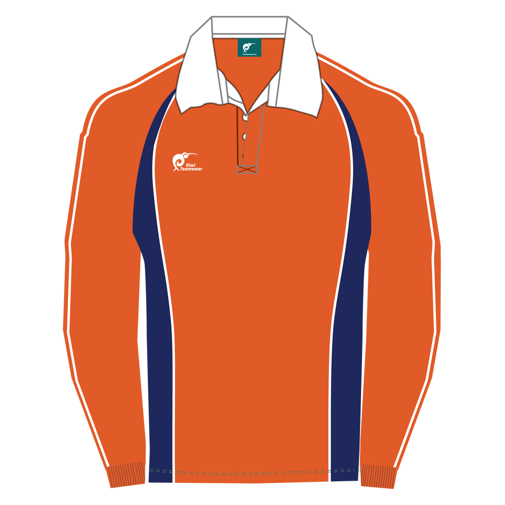 Long Sleeve Panel Cotton Rugby Jersey, Type: A190051PCJ