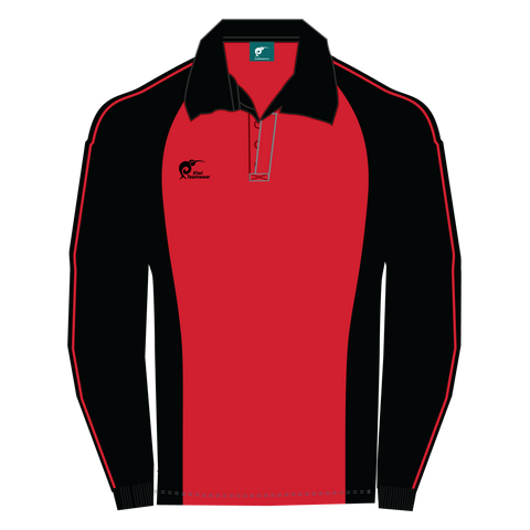 Image of Long Sleeve Panel Cotton Rugby Jersey, Type: A190052PCJ