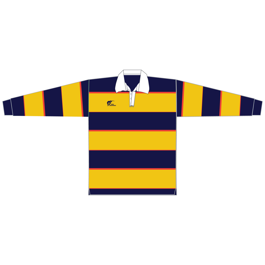 Long Sleeve Knitted Cotton Rugby Jersey - Type A190054KCJ