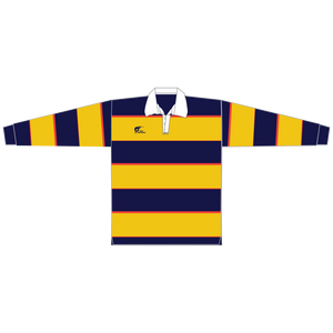 Long Sleeve Knitted Cotton Rugby Jersey, Type: A190054KCJ