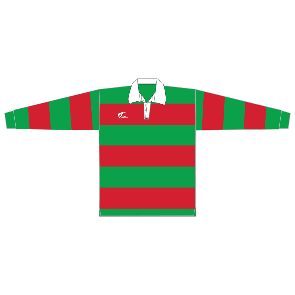 Long Sleeve Knitted Cotton Rugby Jersey - Type A190056KCJ