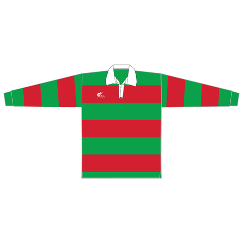Image of Long Sleeve Knitted Cotton Rugby Jersey, Type: A190056KCJ