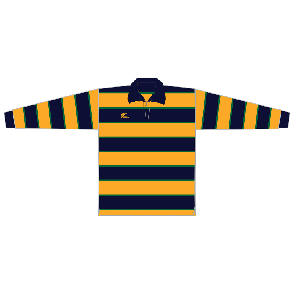 Long Sleeve Knitted Cotton Rugby Jersey - Type A190057KCJ