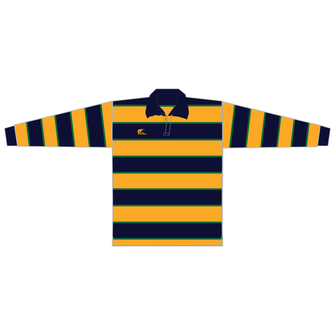 Image of Long Sleeve Knitted Cotton Rugby Jersey, Type: A190057KCJ