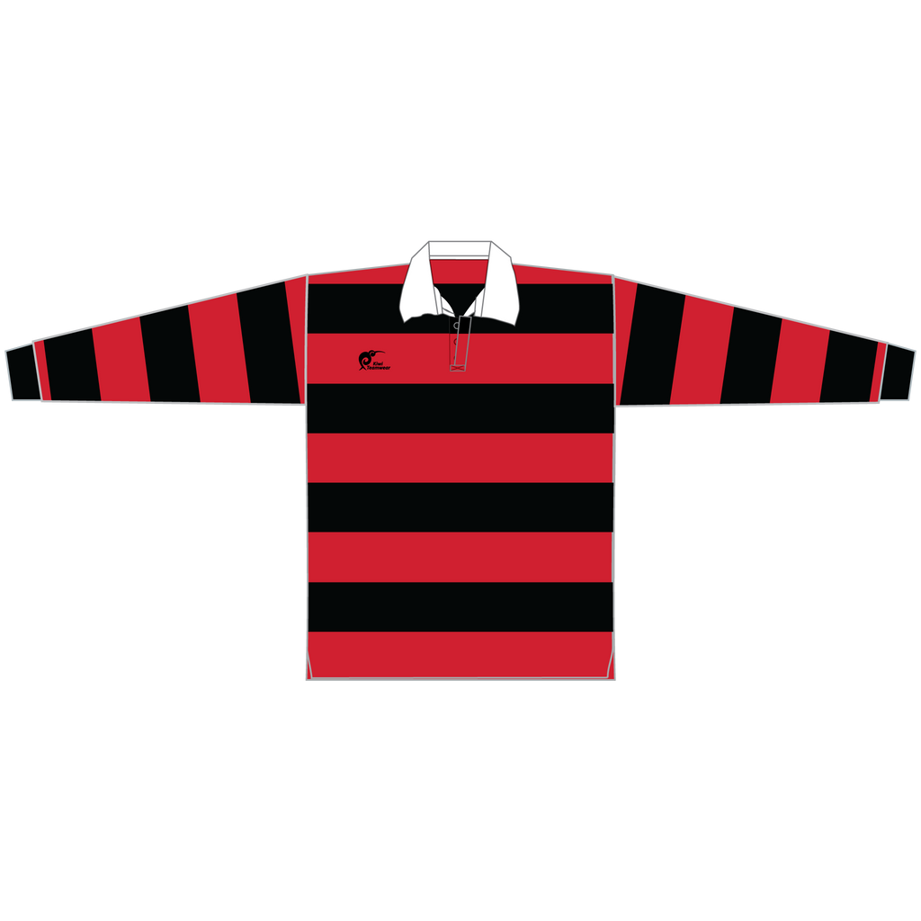 Long Sleeve Knitted Cotton Rugby Jersey - Type A190058KCJ