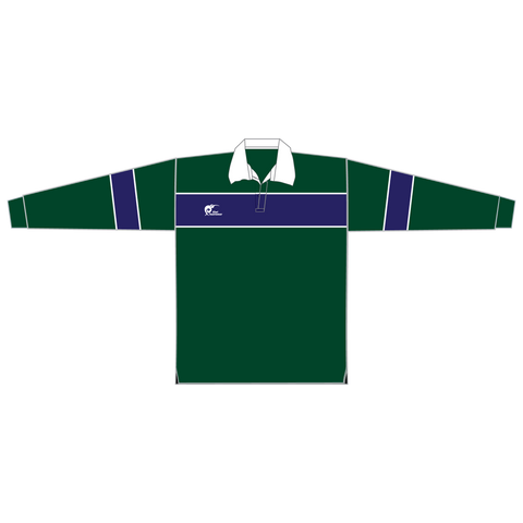 Image of Long Sleeve Knitted Cotton Rugby Jersey - Type A190059KCJ