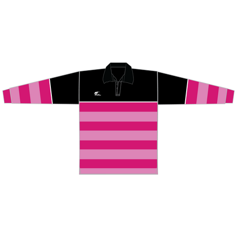 Image of Long Sleeve Knitted Cotton Rugby Jersey, Type: A190062KCJ