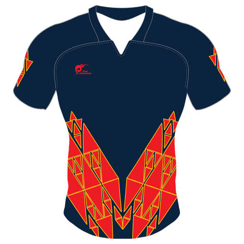 Image of Mens Sublimated Rugby Jersey, Type: A190079SRJ