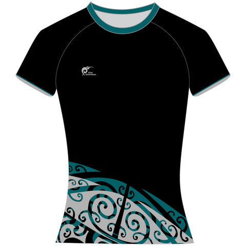 Image of Womens Sublimated T-Shirt - Type A190142STSF