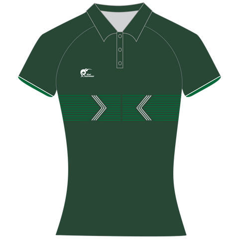 Womens Sublimated Polo Shirt - Type A190153SPSF