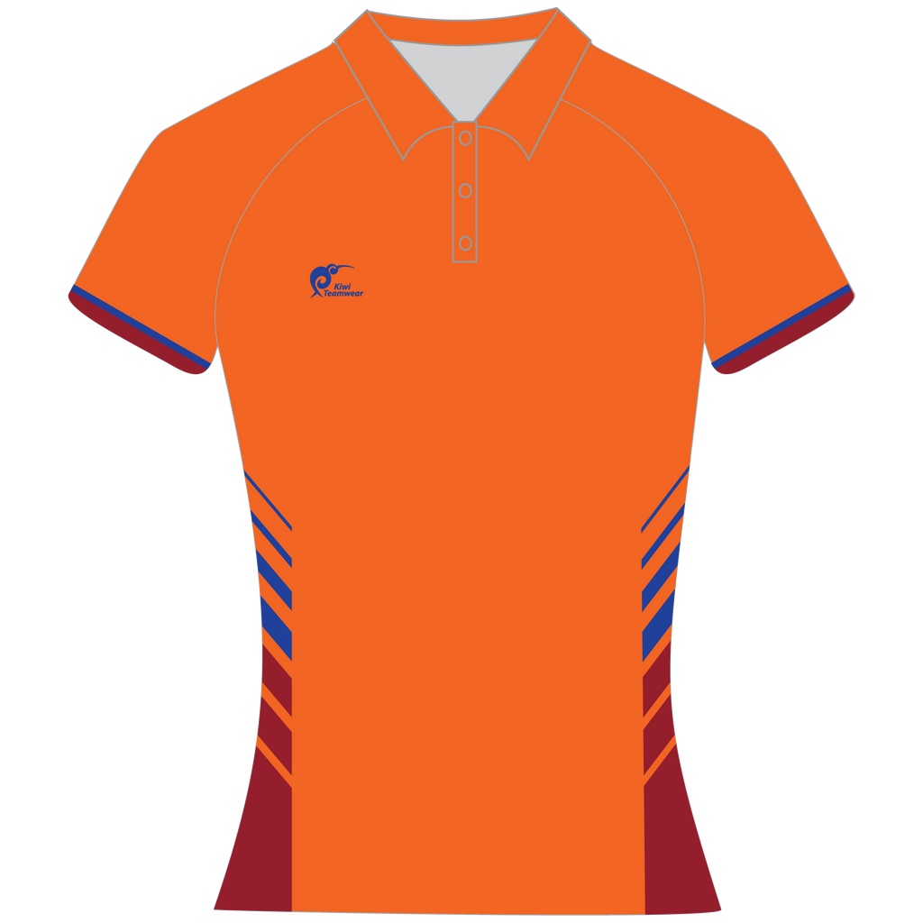Womens Sublimated Polo Shirt, Type: A190154SPSF