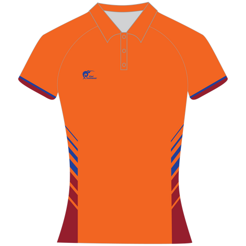 Womens Sublimated Polo Shirt - Type A190154SPSF