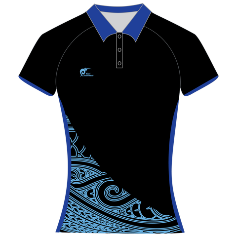Image of Womens Sublimated Polo Shirt, Type: A190155SPSF