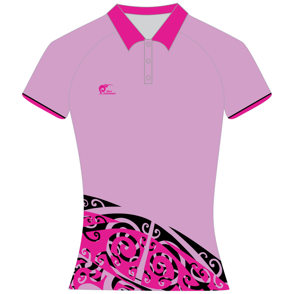 Womens Sublimated Polo Shirt, Type: A190156SPSF