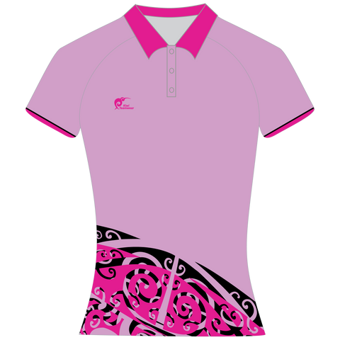 Image of Womens Sublimated Polo Shirt, Type: A190156SPSF