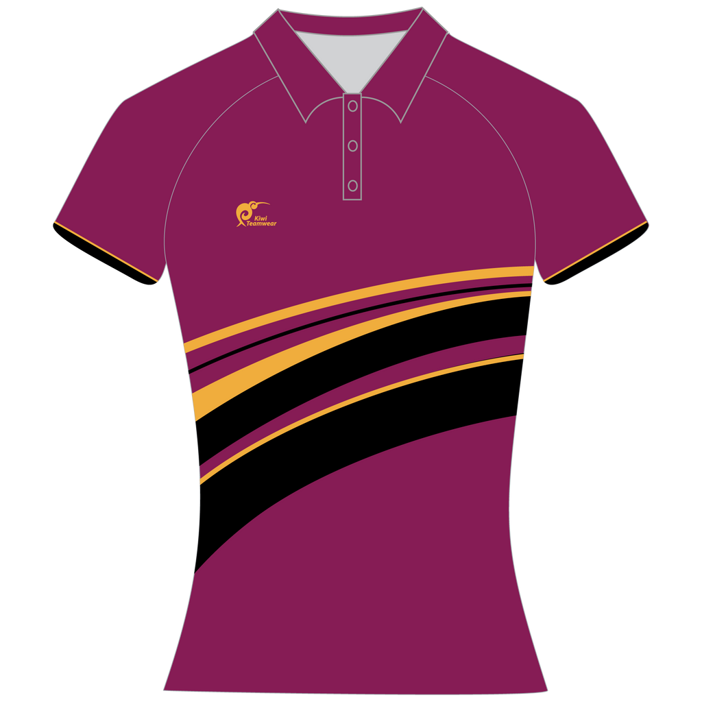 Womens Sublimated Polo Shirt, Type: A190161SPSF