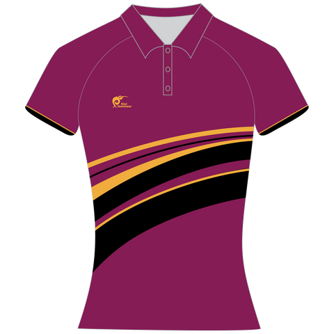 Image of Womens Sublimated Polo Shirt, Type: A190161SPSF