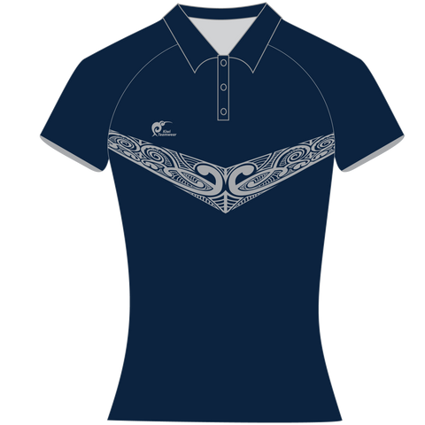 Image of Womens Sublimated Polo Shirt, Type: A190163SPSF