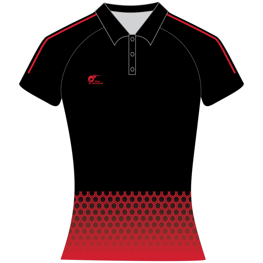 Womens Sublimated Polo Shirt, Type: A190164SPSF