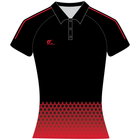 Womens Sublimated Polo Shirt - Type A190164SPSF