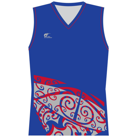 Image of Womens Sublimated Sleeveless Shirt - Type A190178SSSF
