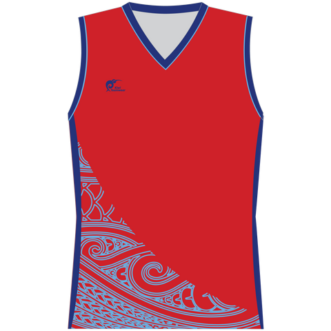 Image of Womens Sublimated Sleeveless Shirt - Type A190180SSSF