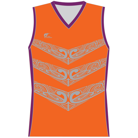 Image of Womens Sublimated Sleeveless Shirt - Type A190183SSSF