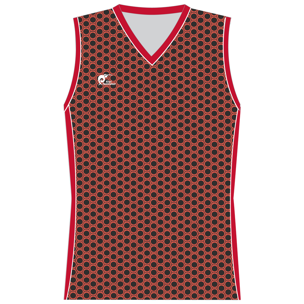 Womens Sublimated Sleeveless Shirt - Type A190188SSSF