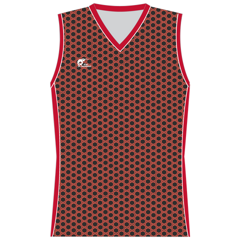 Image of Womens Sublimated Sleeveless Shirt - Type A190188SSSF