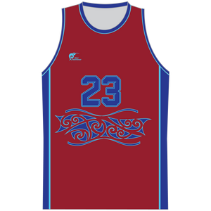 Mens Sublimated Basketball Top