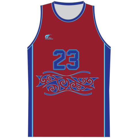 Image of Mens Sublimated Basketball Top - Type A190203SBBTM