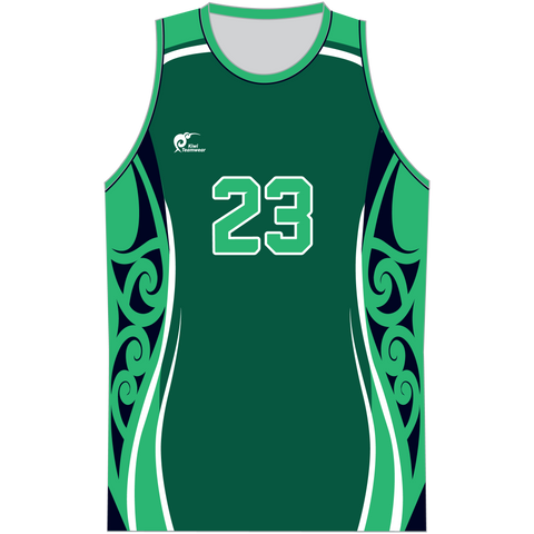 Image of Mens Sublimated Basketball Top, Type: A190204SBBTM