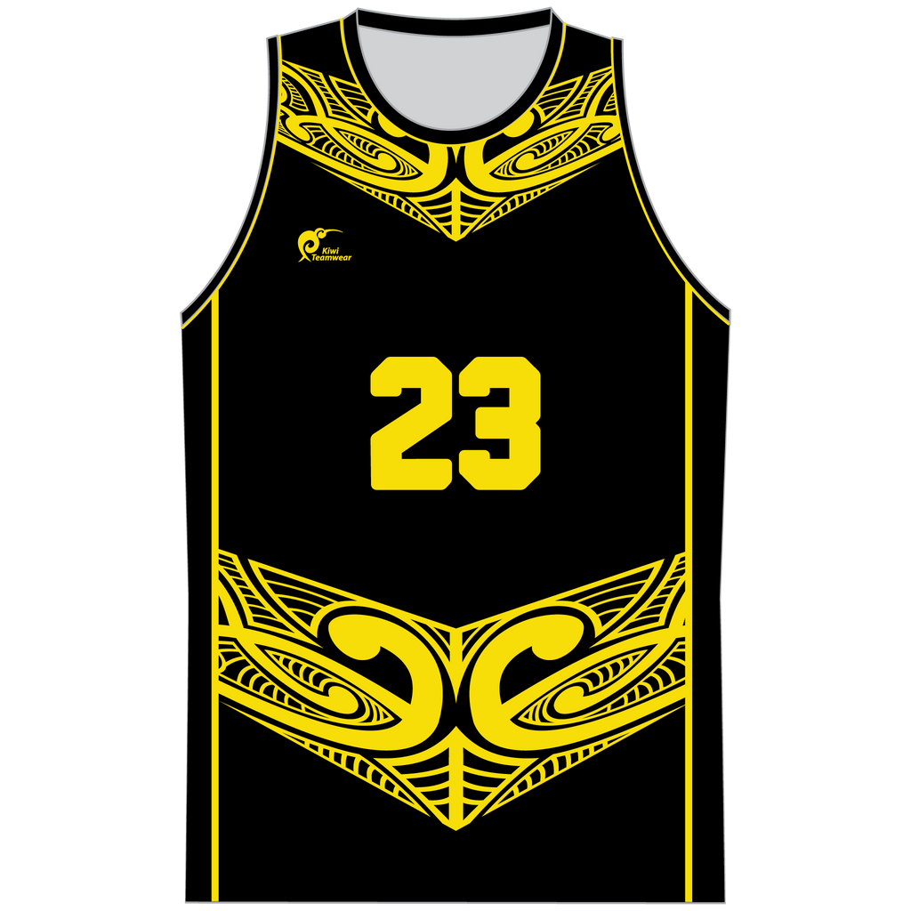 Mens Sublimated Basketball Top - Type A190205SBBTM