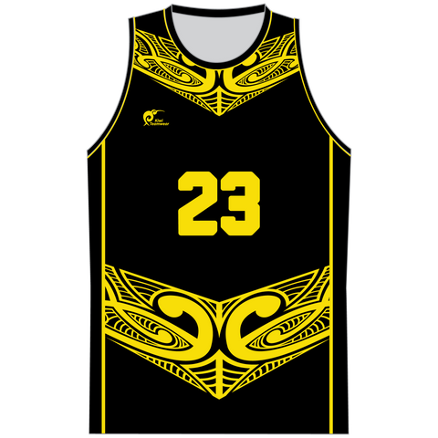 Image of Mens Sublimated Basketball Top, Type: A190205SBBTM