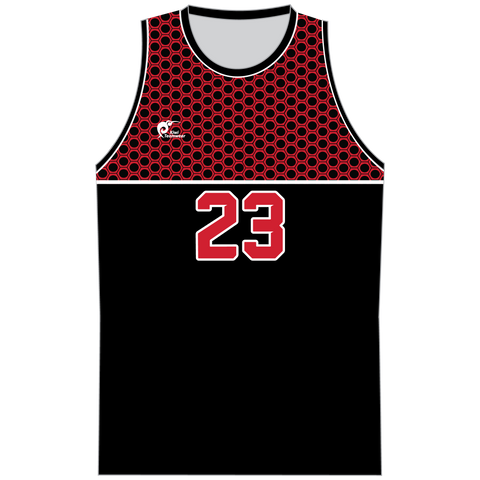 Mens Sublimated Basketball Top - Type A190206SBBTM