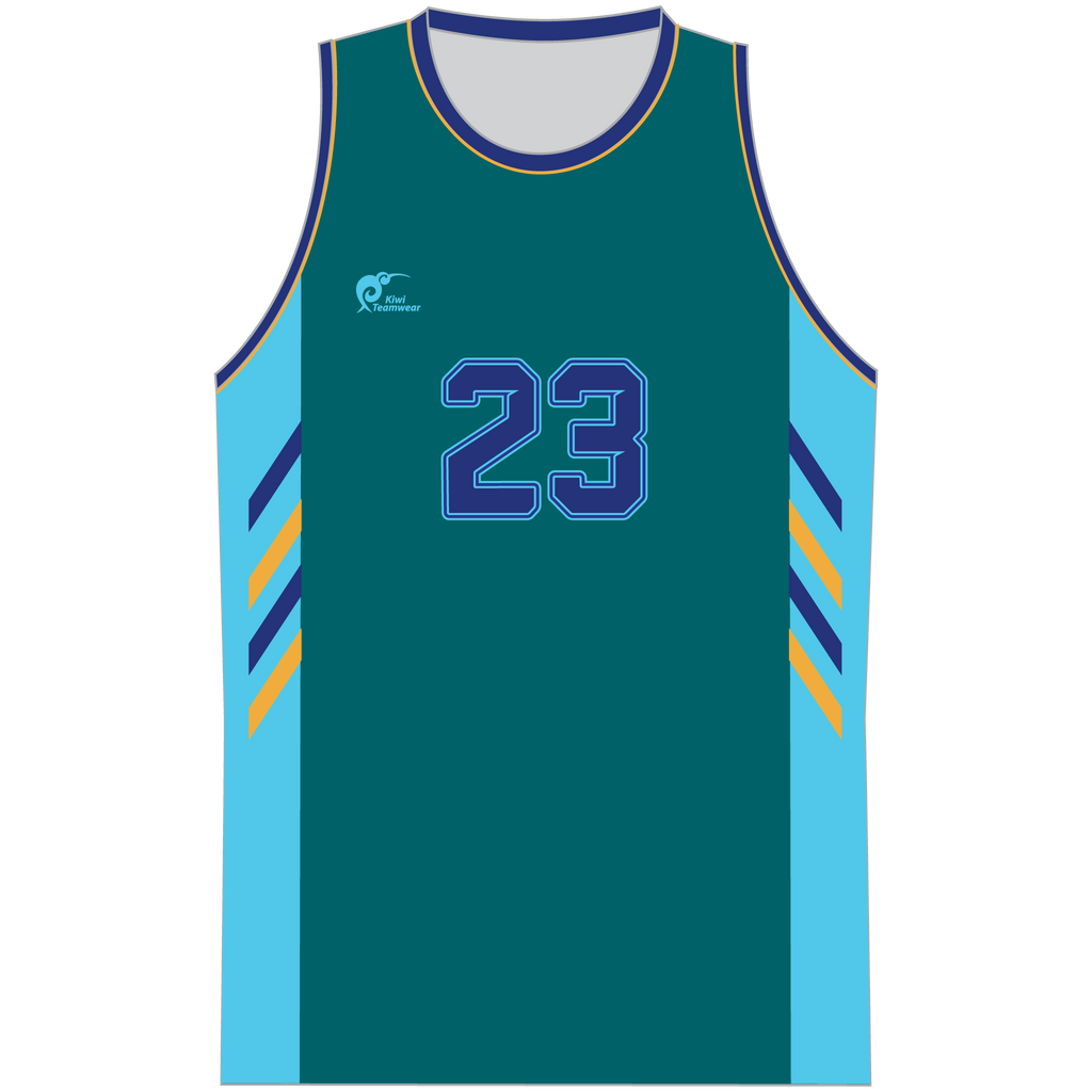 Mens Sublimated Basketball Top - Type A190207SBBTM