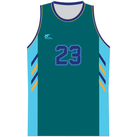Image of Mens Sublimated Basketball Top - Type A190207SBBTM