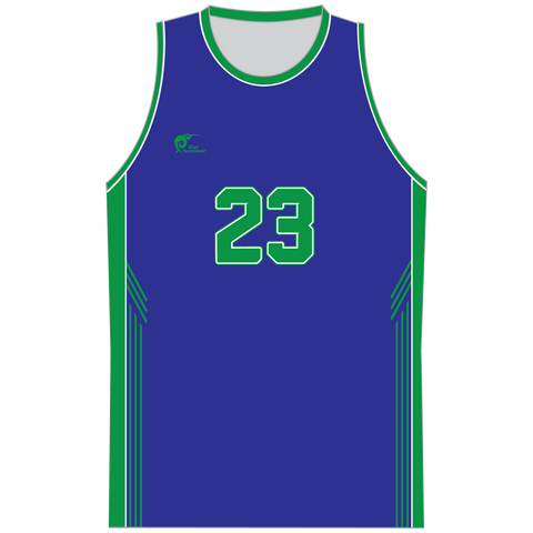 Mens Sublimated Basketball Top - Type A190208SBBTM
