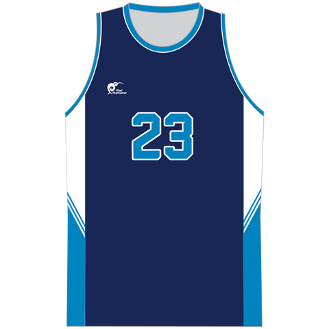 Mens Sublimated Basketball Top - Type A190209SBBTM