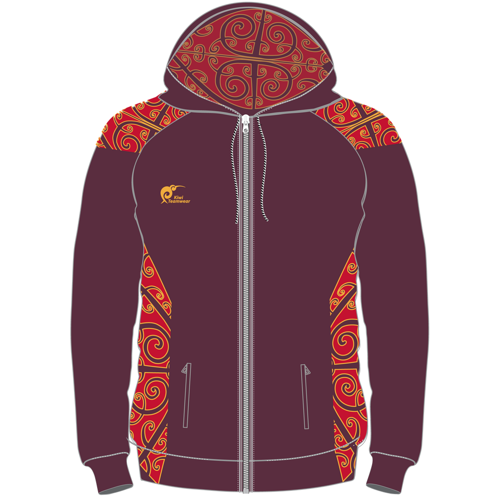 Adults Sublimated Zip Hoodie, Type: A190257SHZ