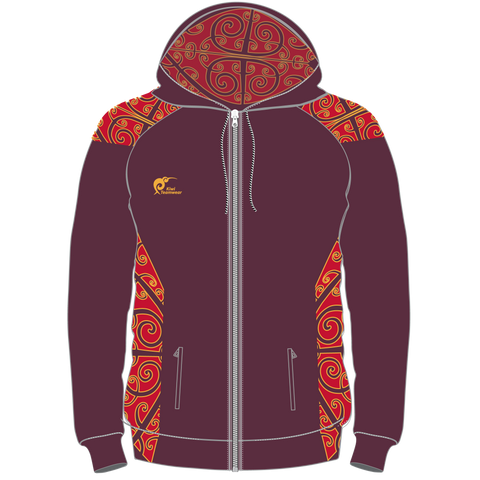 Image of Adults Sublimated Zip Hoodie, Type: A190257SHZ