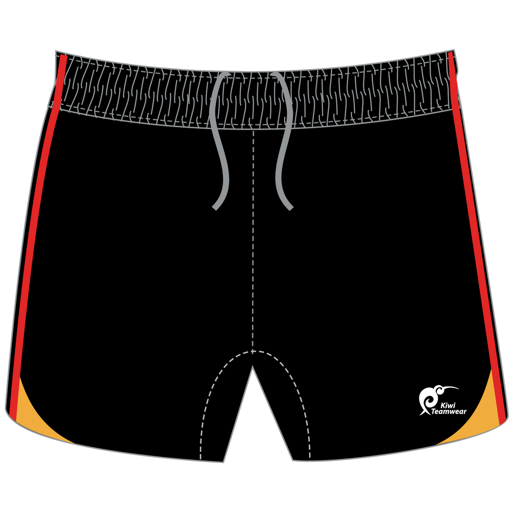 Mens Elite Panel Rugby Shorts - Type A190278PERS