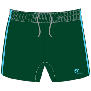Mens Elite Panel Rugby Shorts