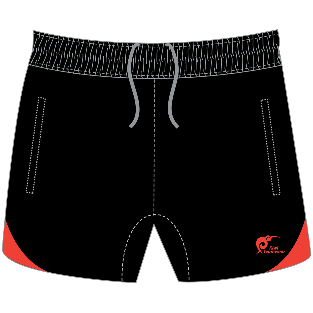 Mens Referee Rugby Shorts - Type A190298PRRS