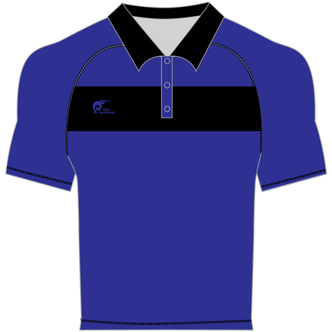 Image of Mens Made To Order Panel Polo Shirt - Type A190366PPSM