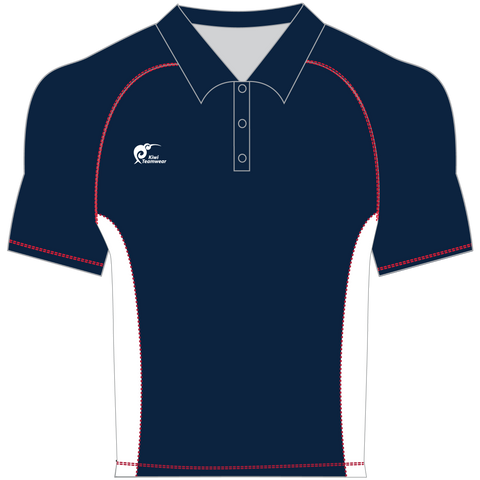 Image of Mens Made To Order Panel Polo Shirt - Type A190376PPSM