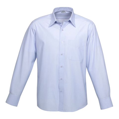 Mens Ambassador Shirt, Style: Long Sleeve, Colour: Blue