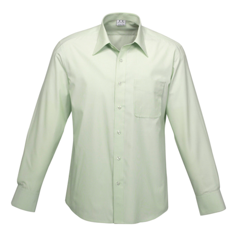 Mens Ambassador Shirt, Style: Long Sleeve, Colour: Green