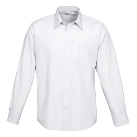Mens Ambassador Shirt, Style: Long Sleeve, Colour: White