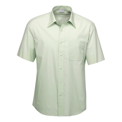 Mens Ambassador Shirt - Style Short Sleeve - Colour Green